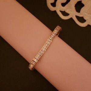 DiamondArt cubic zirconia tennis bracelet
